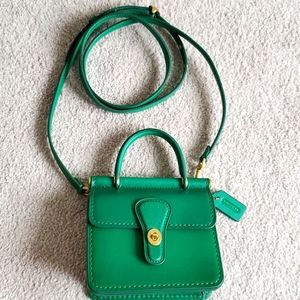 Coach micro Willis crossbody bag